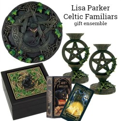 Celtic Familiars Gift Ensemble by Lisa Parker + FREE Candles