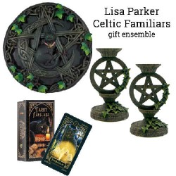 Celtic Familiars Gift Ensemble by Lisa Parker