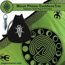 Moon Phase Goddess Gift Trio