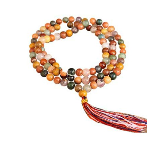 Assorted Stones Japmala