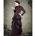 Victorian Brocade 2 Pc. Dinner Dress