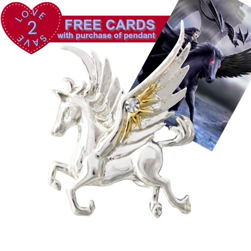 Mythical Companions - Pegasus of the Stars for Quick Thought & Creativity by Anne Stokes