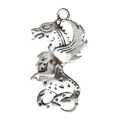 Celtic Birth Charm Beltane Dragon to Invoke Power