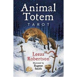 Animal Totem Tarot & Book by Leeza Robertson
