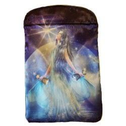 "Thelema Tarot Bag by Lo Scarabeo 6"" x 9"""
