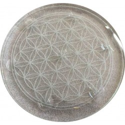 """10"""" Flower of Life Crystal Ball Stand"""