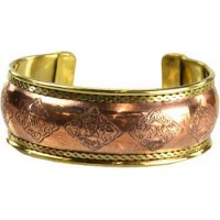 Bracelet - Copper Celtic Knot Engraved