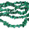 "32"" Malachite chip necklace"