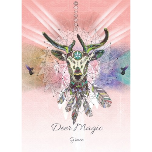 Karin Roberts' Art Card 6 Pack Deer Magic for Grace