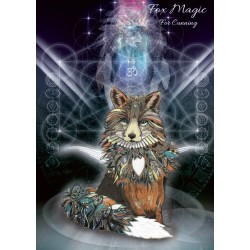 Karin Roberts' Art Card 6 Pack Fox Magic for Cunning