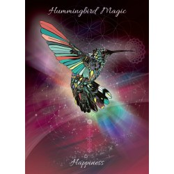 Karin Roberts' Art Card 6 Pack Hummingbird Magic for Happiness