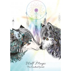 Karin Roberts' Art Card 6 Pack Wolf Magic for Kindred Spirits
