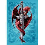 Anne Stokes Mythical Companions - Amphisibaena for Cosmic Protection