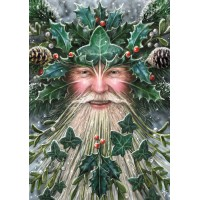 Anne Stokes Yule Card 6 Pack - Spirit of Yule