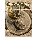 Anne Stokes Fantasy Birthday Card 6 Packs | Dragons, Fairies, Unicorns, Forest Themes