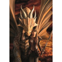 Anne Stokes  Inner Strength Dragon Card 6 Pack