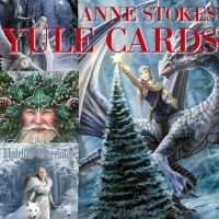 Anne Stokes Fantasy Card 6 Packs - Yuletide