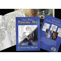 Coloring Book - Fantasy Art by Anne Stokes