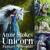 Anne Stokes Fantasy Card 6 Packs - Unicorn