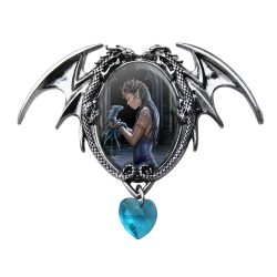 Anne Stokes Enchanted Cameo - Water Dragon