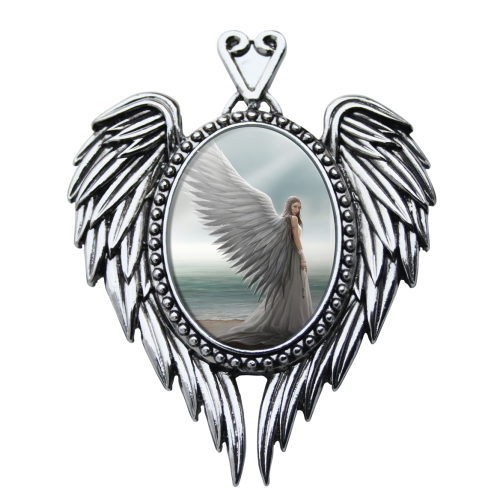 Anne Stokes Enchanted Cameo - Spirit Guide
