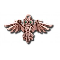 Anne Stokes Engineerium Range - Aviamore Owl Pendant for Freedom of Mind