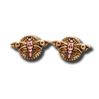 Anne Stokes Engineerium Range - Magradore's Moth Earrings for Personal Transformation