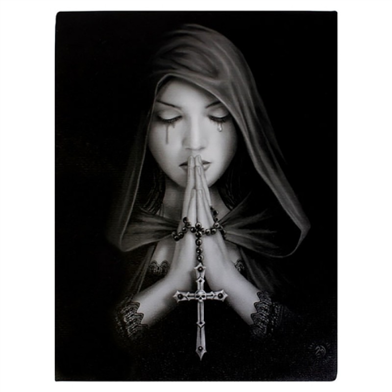 Anne Stokes Canvas Fantasy Art Print Gothic Prayer