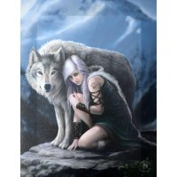 Canvas Art Print - Anne Stokes Protector