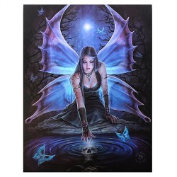 Immortal Flight Canvas Art Print - Anne Stokes
