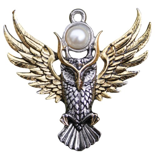 Owl of Athena Pendant for Magickal Wisdom