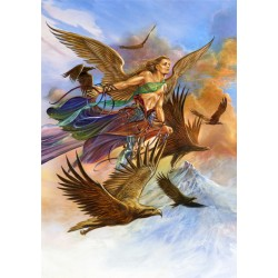 Briar Elemental Archangel Card 6 Pack - Raphael, Angel of Air