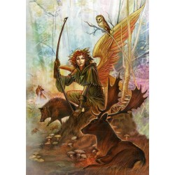 Briar Elemental Archangel Card 6 Pack - Uriel, Angel of Earth