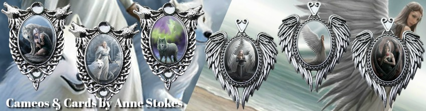 Enchanted Cameo Anne Stokes