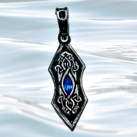 Nordic Lights - Eye of the Ice Dragon Pendant