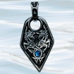 Nordic Lights - Sea Unicorn Pendant for Love & Courage