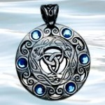 Nordic Lights - Jewels of the Moon Pendant for Clairvoyance & Psychic Ability