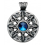 Nordic Lights - Ring of the Heavens Pendant for Leadership & Advancement