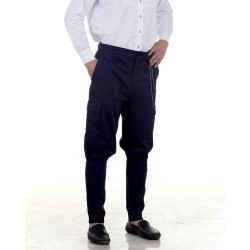 Men's Airship Steampunk Pants - Blue or Black