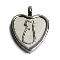 Keepsake Love Vial - Purrfect Heart