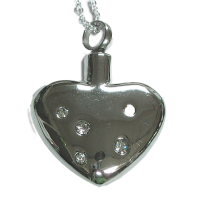 Keepsake Love Vial - Passion Heart