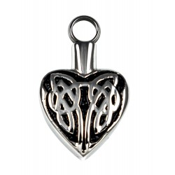 Keepsake Love Vial - Celtic Heart