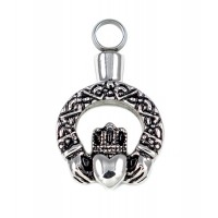 Keepsake Love Vial - Claddagh