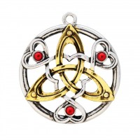 Mythic Celts Pendant - Charm of Cu Chalainn for Fierce Determination