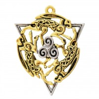 Mythic Celts Pendant - Dance of Rhiannon for Boundless Energy