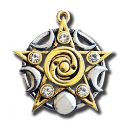 Mythic Celts Star of Skellig Spiritual Growth Pendant