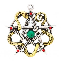 Mythic Celts Pendant - Sulis Minerva for Wisdom & Healing