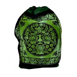 "Backpack - Green Man 17""x 20"""