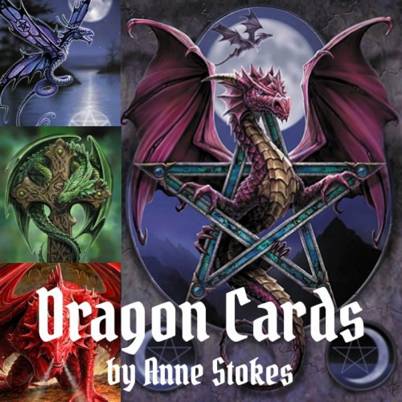 Anne stokes fantasy dragon greeting cards paganrealms anne stokes dragon card 6 packs fantasy realms m4hsunfo