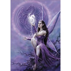 Anne Stokes Fairy Card 6 Pack - Draco Faerie